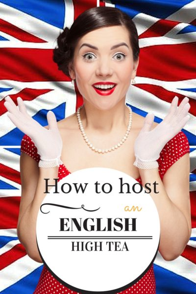 English High Tea Style Guide