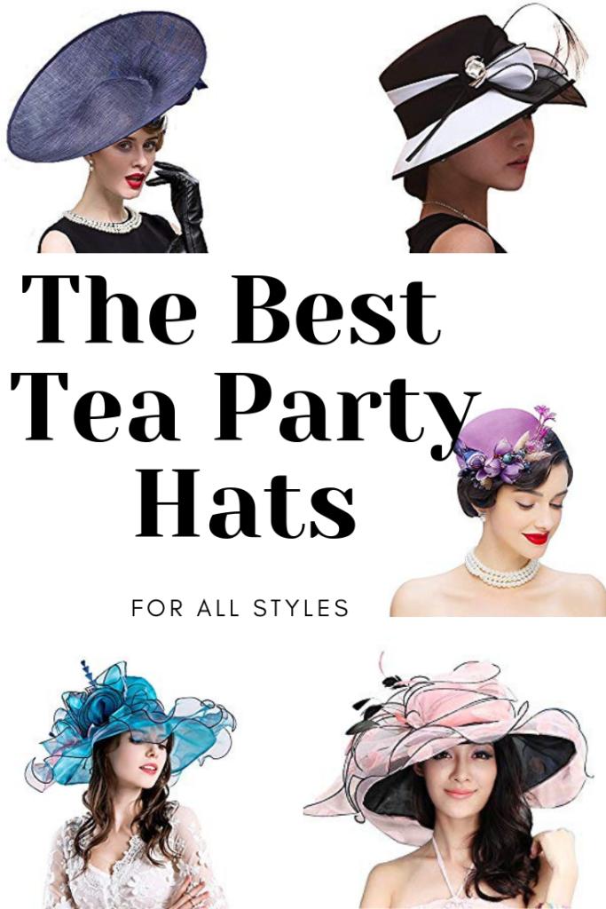 Best tea party hats