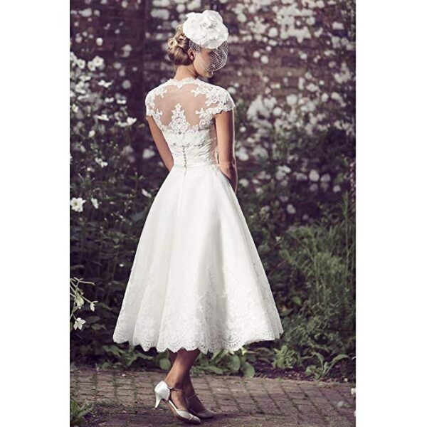High tea party wedding dresses