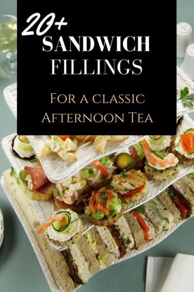 Classic High Tea Sandwiches