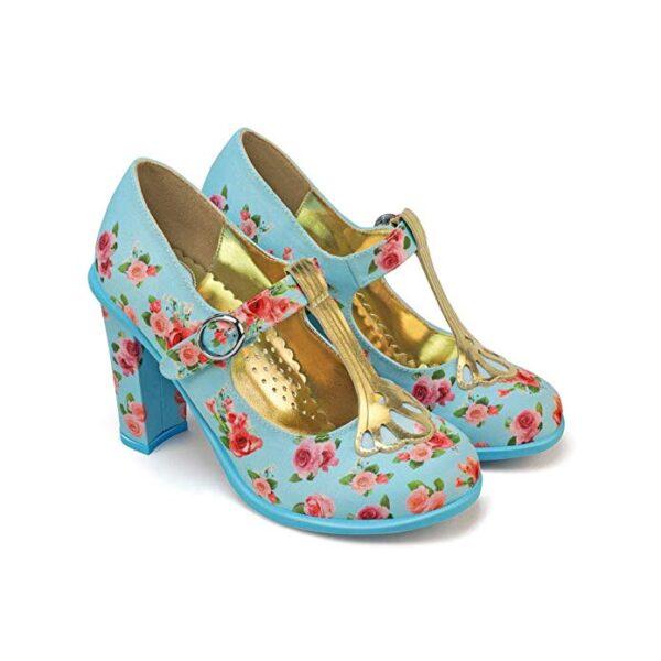 vintage tea party shoes