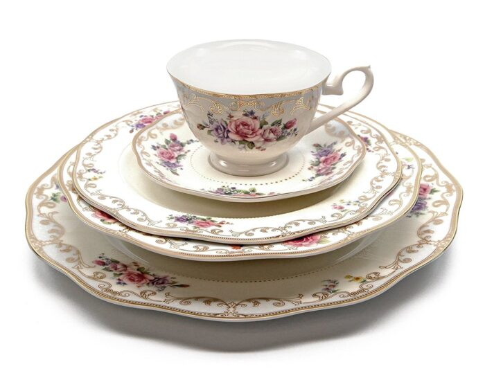 vintage tea party tea cups