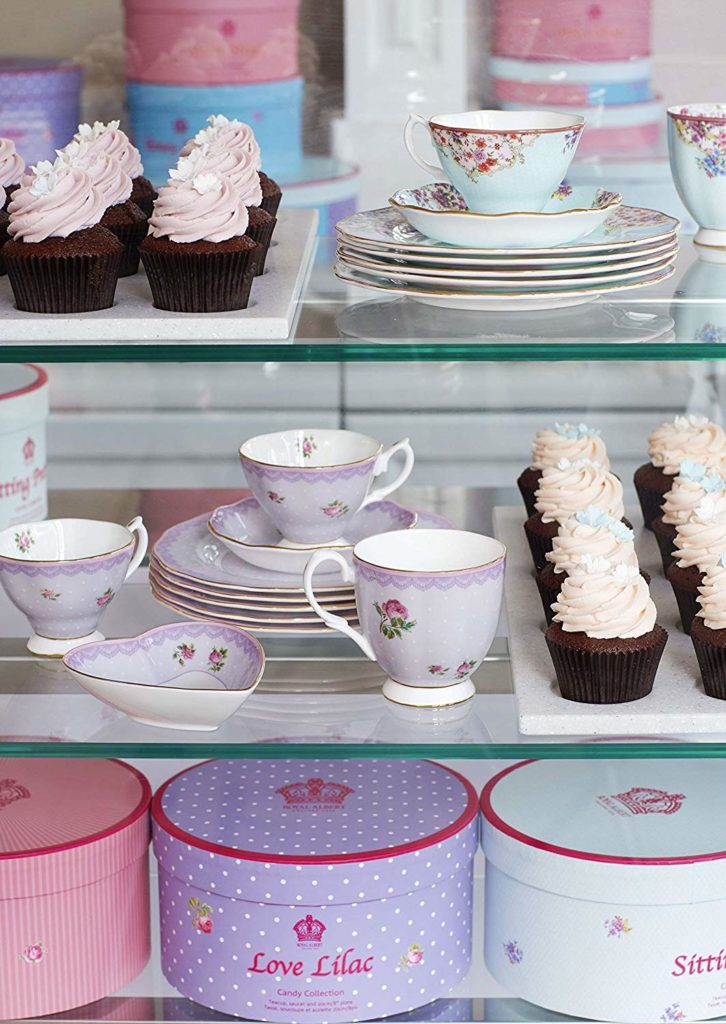 vintage teacups tea party time