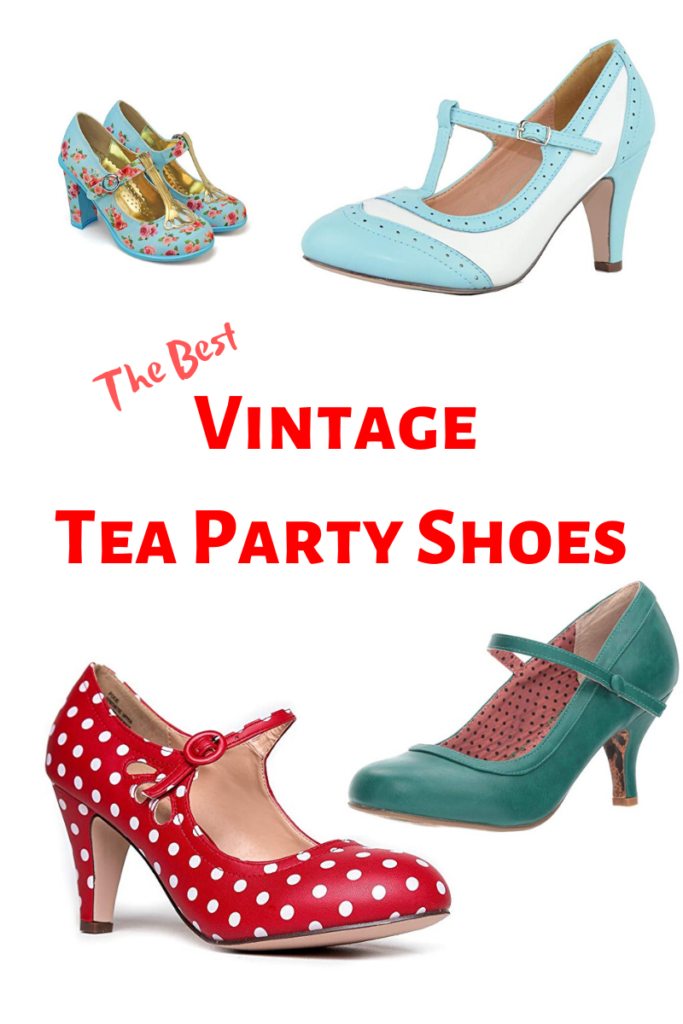 Best Vintage Tea Party Shoes How To High Tea Vintage Tea