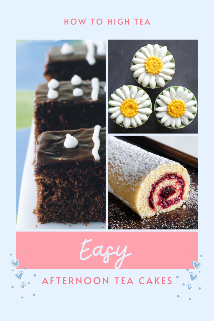 Easy Afternoon Cakes