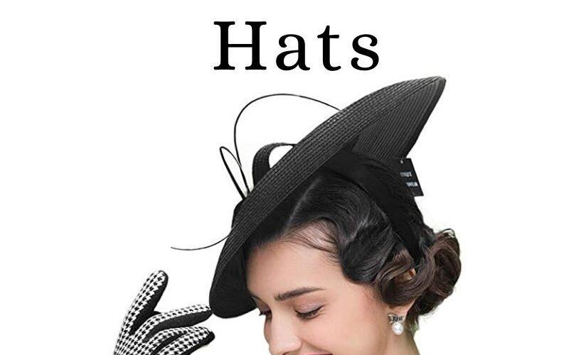Classic Garden Tea Party Hats