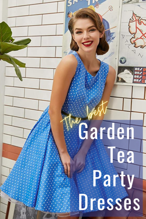 Garden Tea Party Dresses