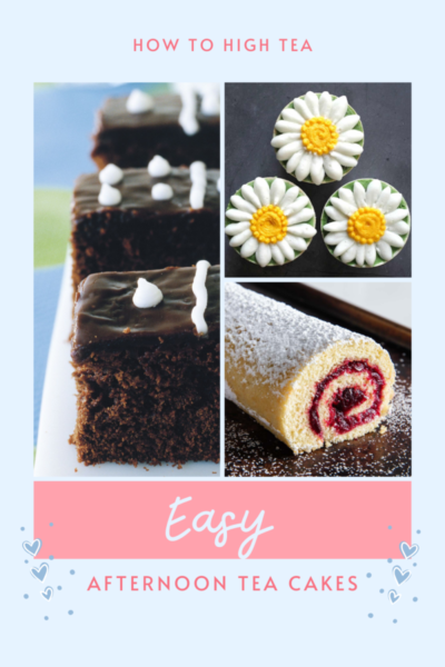 Easy Afternoon Tea Cakes