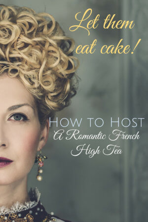 French High Tea Party