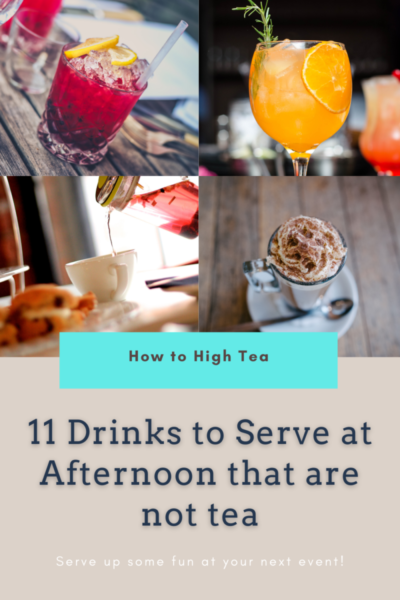 Tea Party Drinks